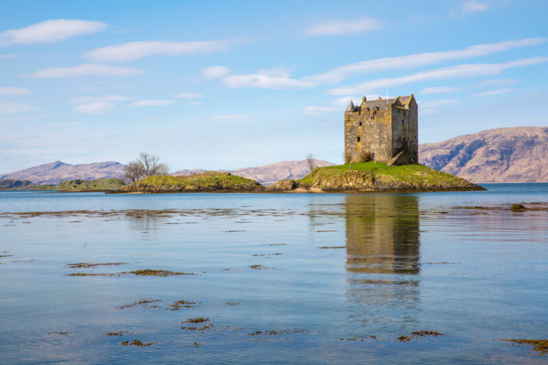 Castle Stalker view 2