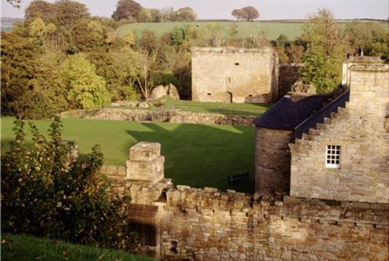 Craignethan Castle Exterior