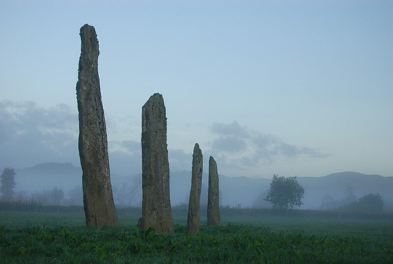 Kilmartin Museum standing stones
