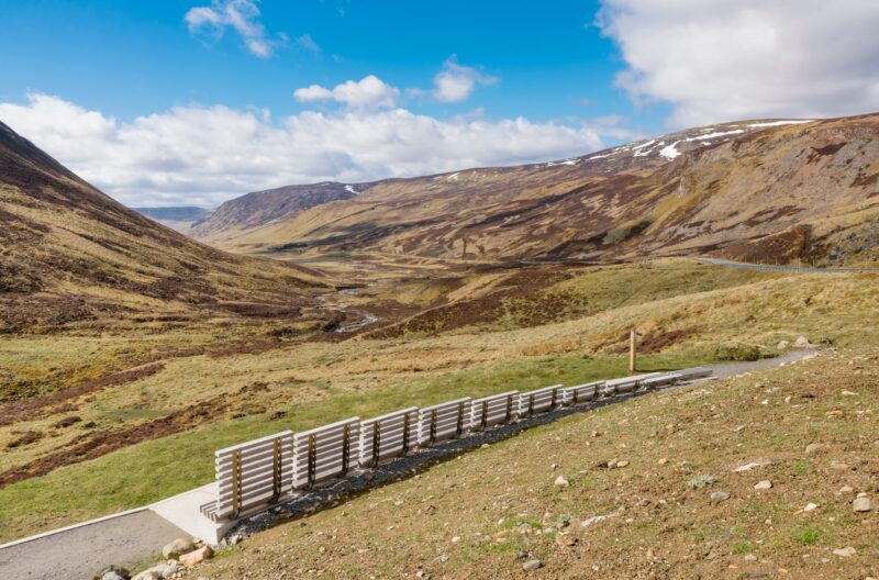 The Devil's Elbow at the Spittal of Glenshee