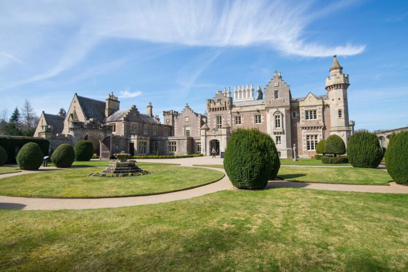 Abbotsford The Home Of Sir Walter Scott view 2