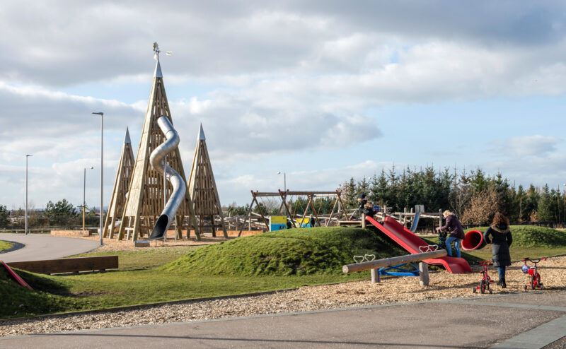 Adventure Zone At Helix Park By Falkirk