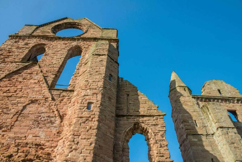 Arbroath Abbey view 3 – close up