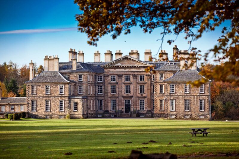 Dalkeith Palace in Dalkeith Country Park