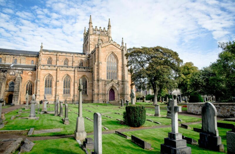 Dunfermline Abbey view 2