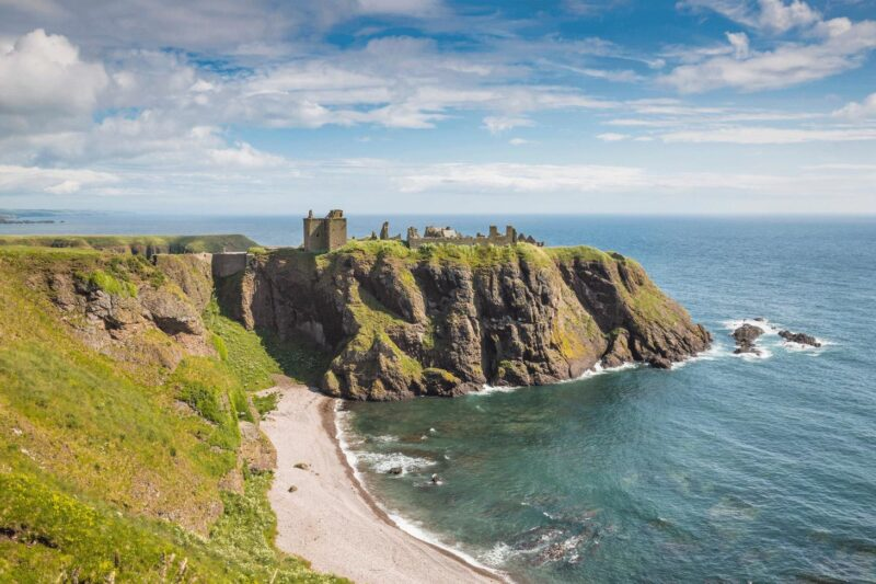 Dunnottar Castle view 2