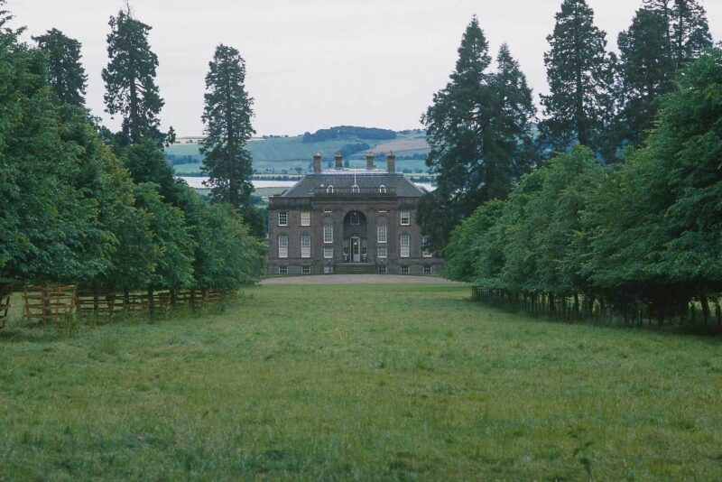 House of dun, a georgian house overlooking the montrose basin, montrose, angus