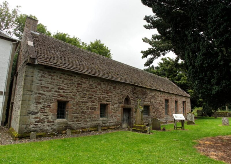 Innerpeffray Chapel Also Known As St Marys Chapel By Innerpeffray Library Scotlands First Free Public Lending Library Near Crieff Perthshire view 1