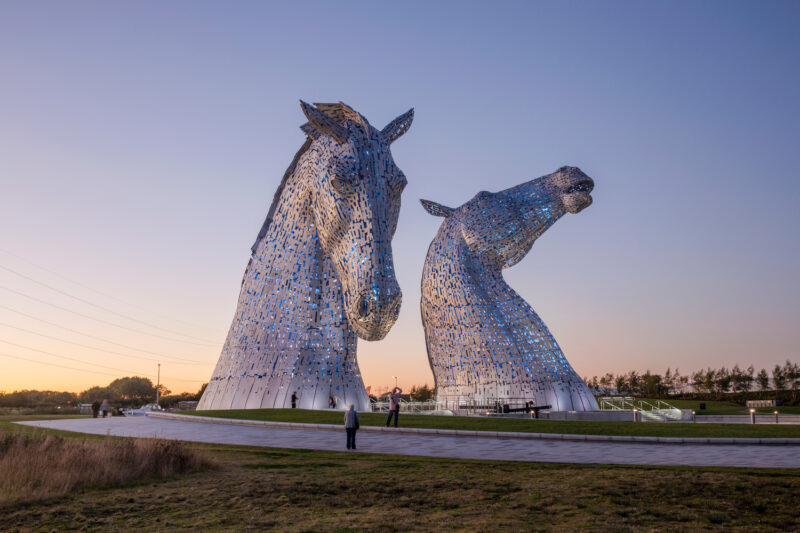 The Kelpies At The Helix2